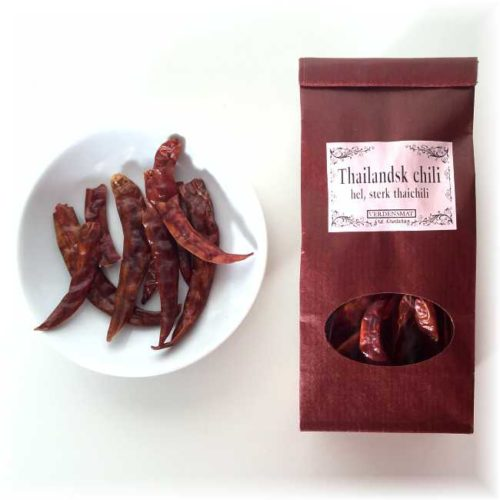 15 g thailandsk chili (phrik chi fa)