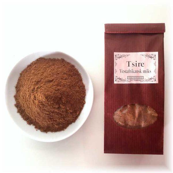 Tsire, vestafrikansk kryddermiks, 50 g
