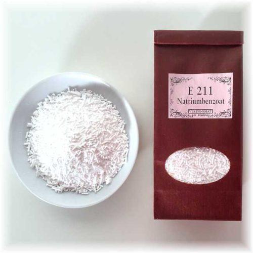 60 g natriumbenzoat (E 211)