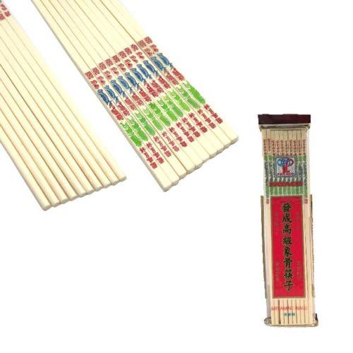 10 par lyse spisepinner (chopsticks)