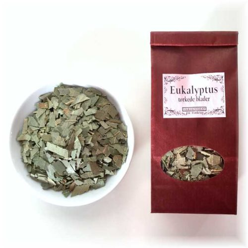 30 g tørkede eukalyptusblader