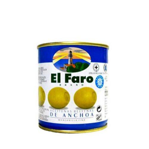 Spanske oliven fylt med ansjos, 120 g
