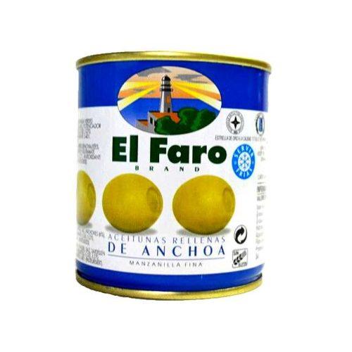 Spanske oliven fylt med ansjos, 150 g