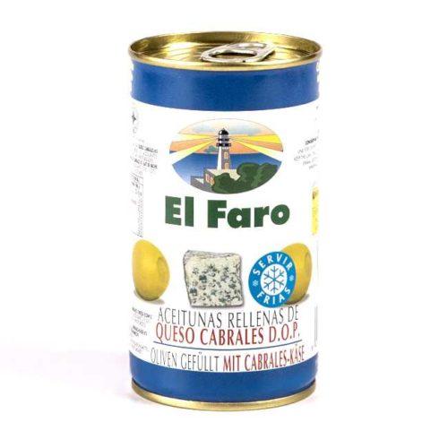 Spanske oliven fylt med cabrales-ost, 350 g