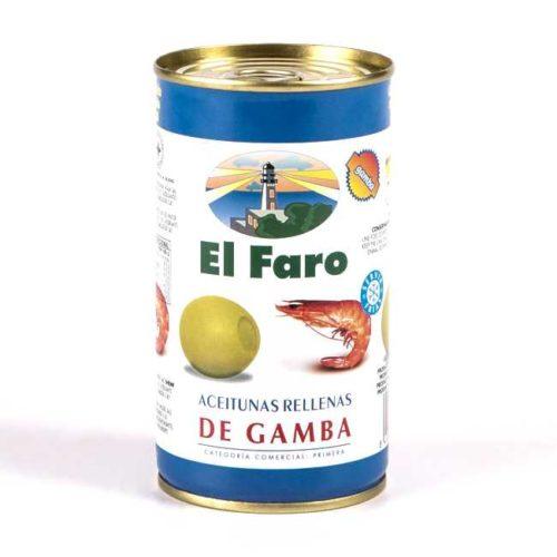 Spanske oliven fylt med reker, 350 g