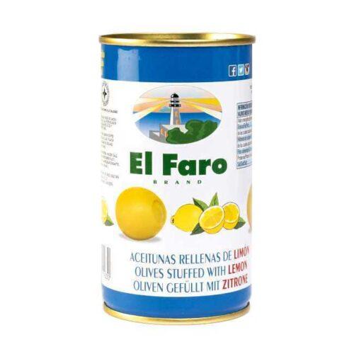 Spanske oliven fylt med sitron, 350 g