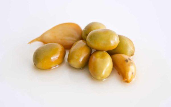 """Spanske oliven """"mojo picon"""", serveringsforslag"""