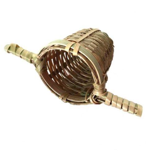 Tesil av bambus, 2 håndtak
