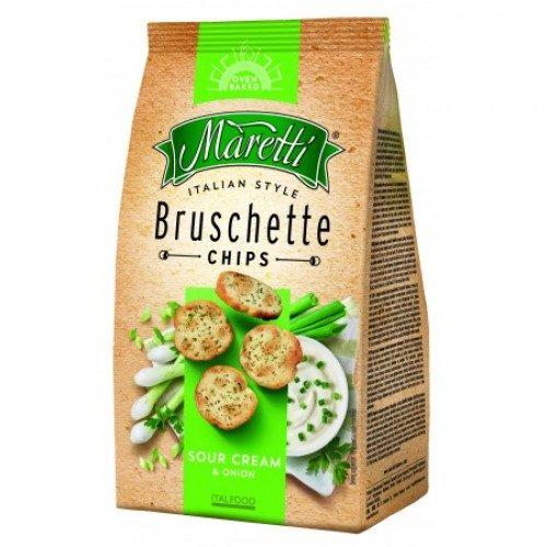 Bruschette med rømme og løk, Maretti, 70 g