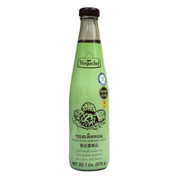 Premium soppsaus (shiitake) fra thailandske Megachef, 590 ml