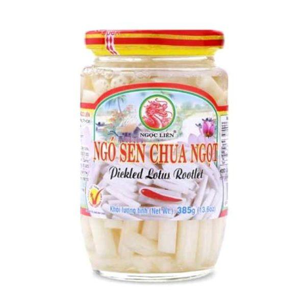 Syltet lotusrot fra vietnamesiske Ngoc Lien, 385 g