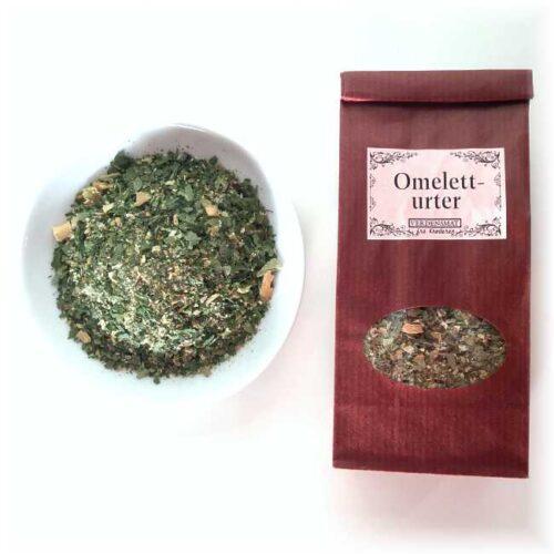 35 g blandede urter, spesielt blandet for en god omelett eller eggerøre