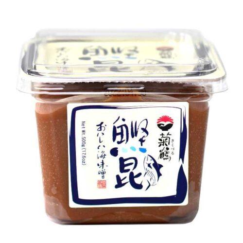 500 g gul miso av soyabønner med bonitt (fisk), fra produsenten Shih-Chuan