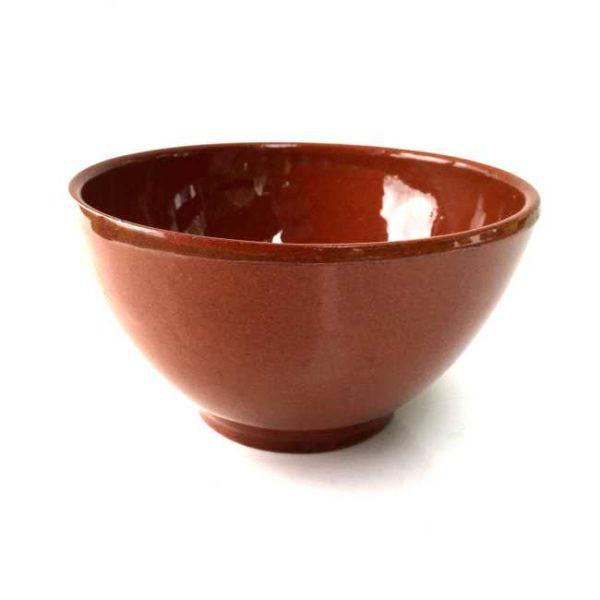 Spansk tapasskål av glasert terrakotta, 150 ml