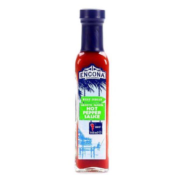 Papaya hot pepper sauce fra Encona, 142 ml