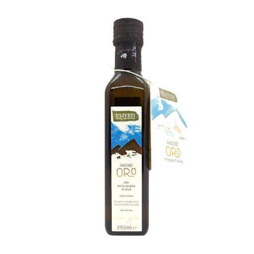 Uliveti, italiensk extravergine olivenolje, «Ancino Oro», 250 ml