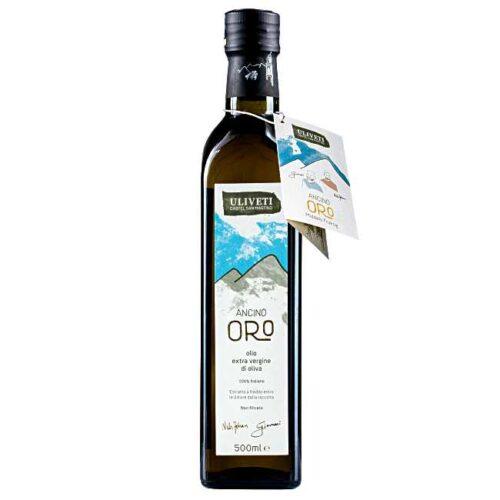 Uliveti, italiensk extravergine olivenolje, «Ancino Oro», 500 ml