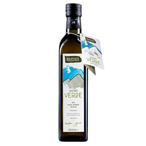 Uliveti, italiensk extravergine olivenolje, «Ancino Verde», 500 ml