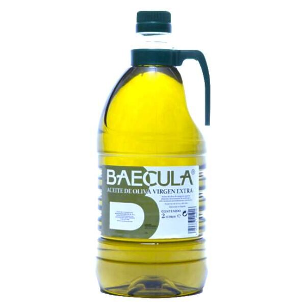 Kaldpresset, extra virgen olivenolje fra Bailén i Sør-Spania, 2 liter