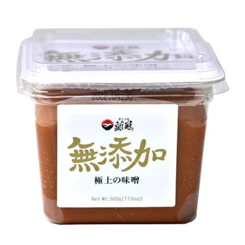 """500 g gul, """"vanlig"""" miso av soyabønner, fra produsenten Shih-Chuan"""