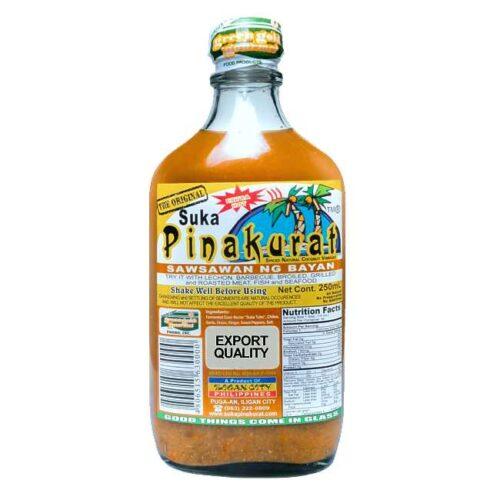Sawsawan fra filippinske Suka Pinakurat, glassflaske, 250 ml