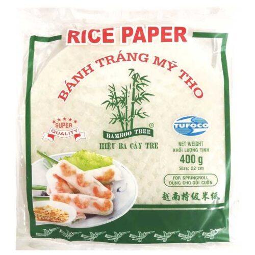 Rispapir til vietnamesiske vårruller, 400 g (ca. 100 stk)
