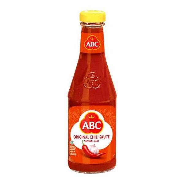 Sambal asli (indonesisk chilisaus) fra ABC, 335 ml