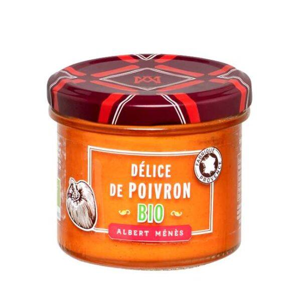 Crème de poivron (krem av grillet paprika) fra Provence. Albert Ménè, 100 g