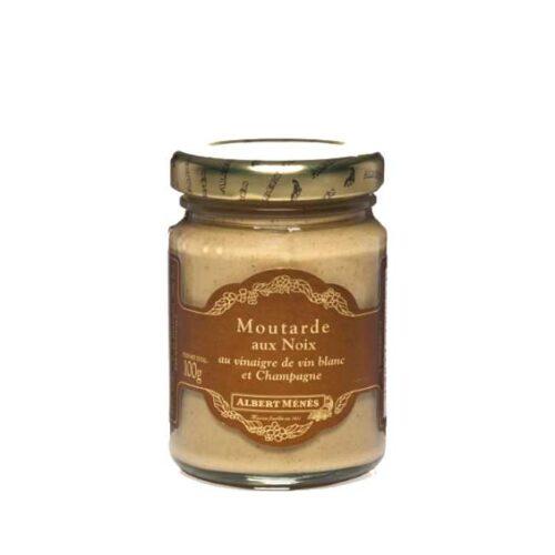 Moutarde aux noix (sennep med valnøtter) fra franske Albert Ménés, glass á 100g