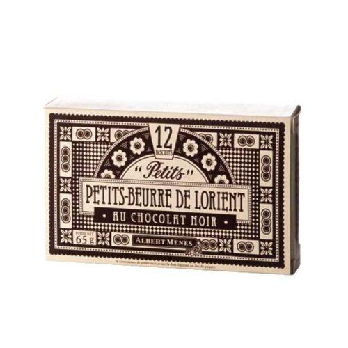 "Petits-beurre au chocolat (franske ""smørkjeks"" med sjokolade) fra Albert Ménès, 65 g"