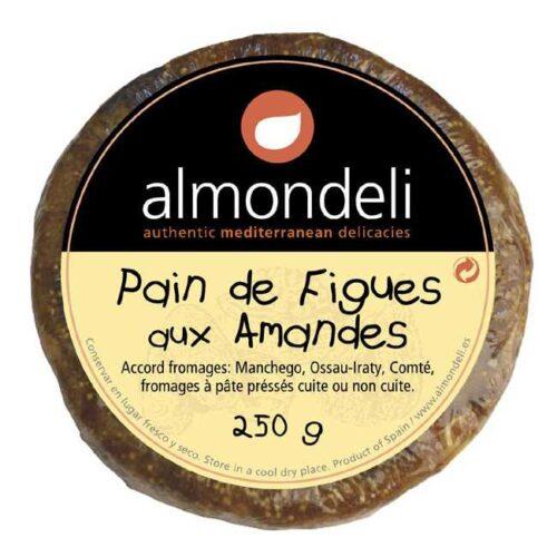 Pain de figues et amandes (fiken- og madelkake) fra spanske Almondeli, 250 g