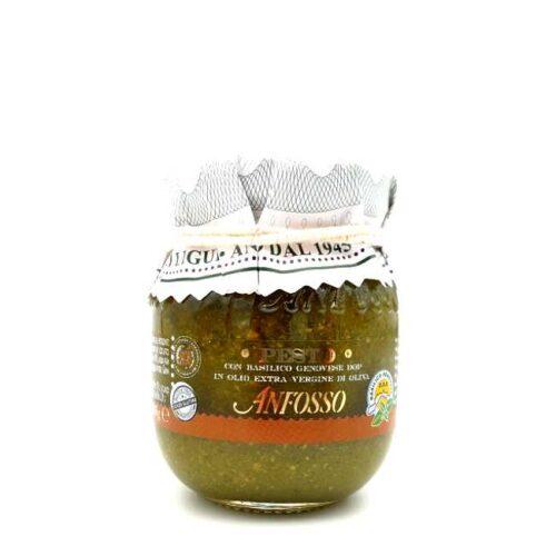 Pesto alla genovese DOP (grønn pesto, av basilikum) fra Liguria, Italia, 85 g
