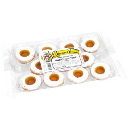 250 g Margheritine (mørdeigskaker med aprikos), produsert i Toscana