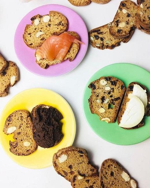 Biscuit toasts fra Provence: Serveringsforslag