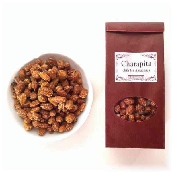 18 g hel, tørket chili charapita (villchili fra Peru)