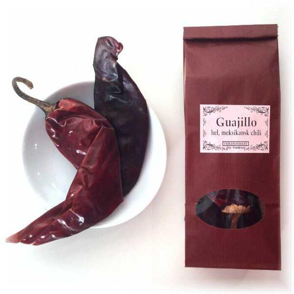 25 g hel chili guajillo (med stilker)