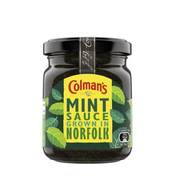 Colman's mint sauce (myntesaus), glass med 165 g