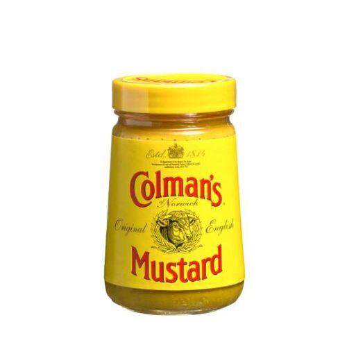 Colman's Mustard (engelsk sennep), på glass à 170 g