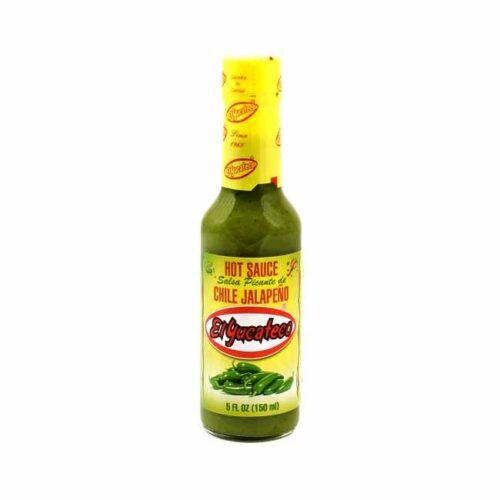 150 ml chilisaus av grønn jalapeño, laget i Mexico