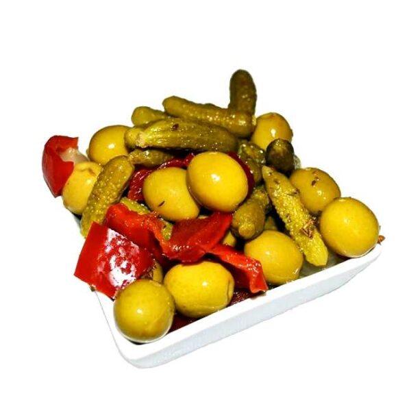 "Olivencocktail ""finas hierbas"": Serveringsforslag"