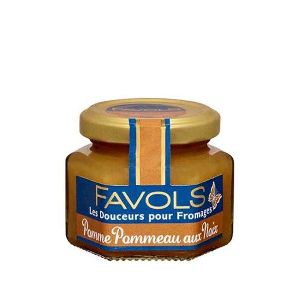 110 g fransk syltetøy til ost: Eple, calvados & valnøtt