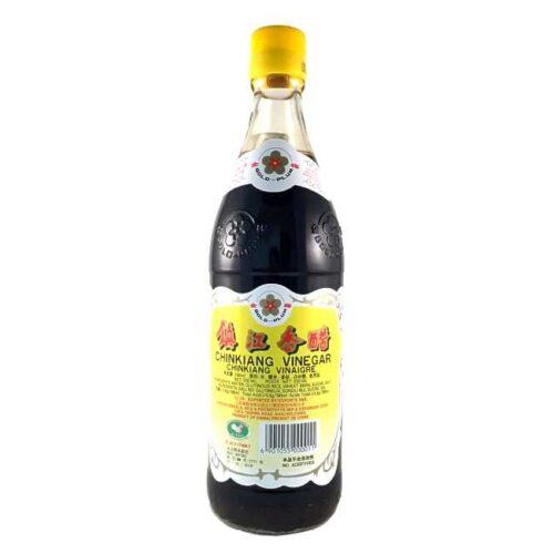 550 ml zhenjiangeddik (svart riseddik), produsert i Kina