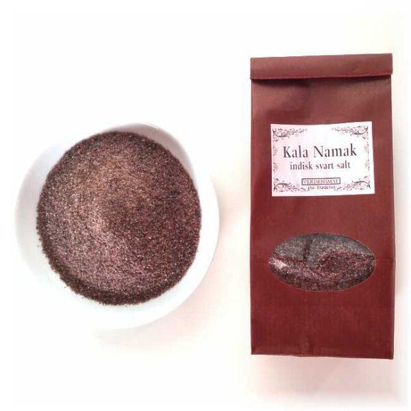 """125 g indisk salttilberedning, """"kala namak"""", 2-5 mm"""