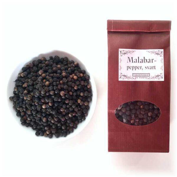 55 g hel, svart pepper fra Malabar