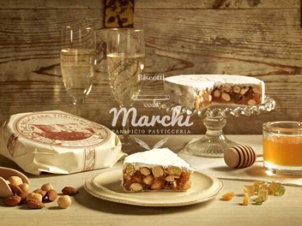 Panforte (toskansk honning- og nøttekake), serveringsforslag