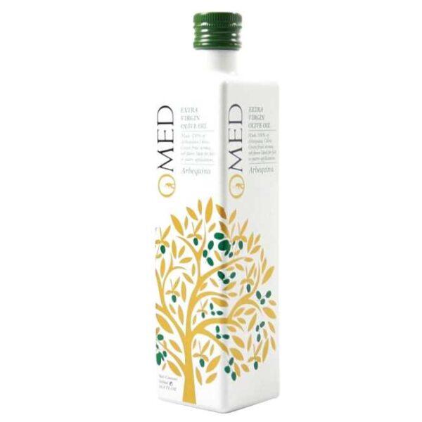 500 ml spansk, extra virgen olivenolje av arbequinaoliven, O-Med