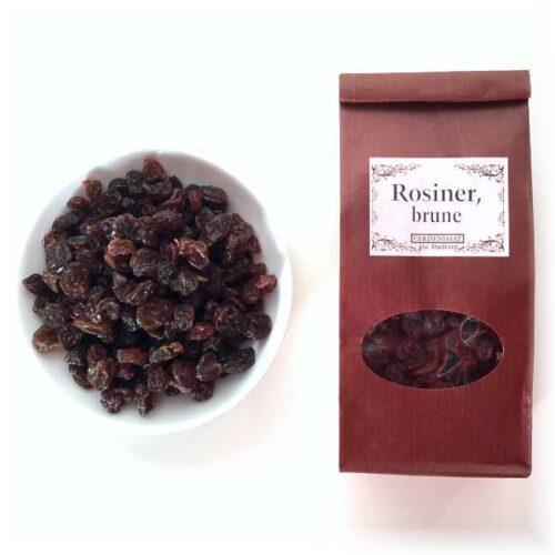 100 g brune, middels store rosiner