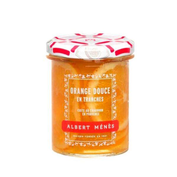280 g fransk appelsinmarmelade med skiver fra Albert Ménès