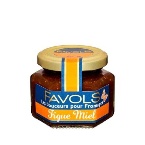 110 g fransk syltetøy til ost: Fiken og honning