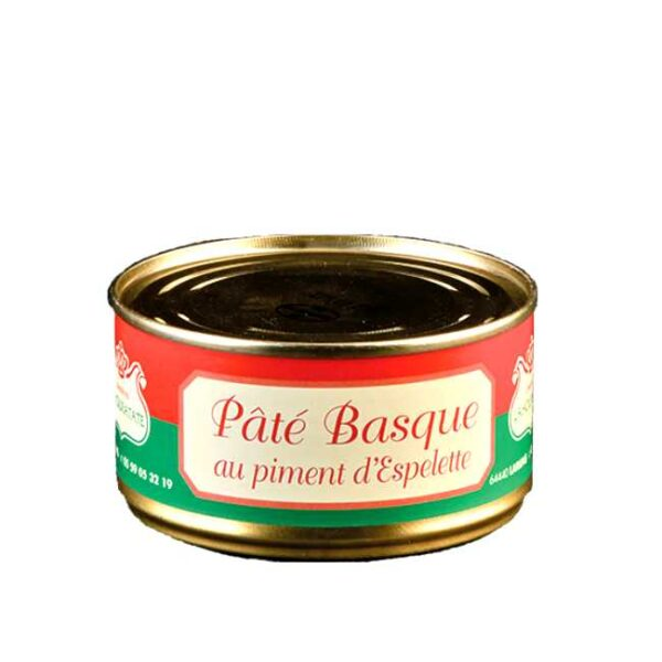 Pâté Basque: 180 g svinepaté fra fransk Baskerland (Lahouratate)